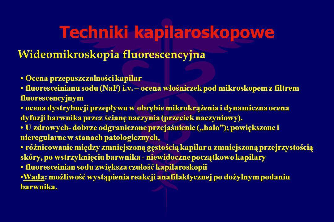 Techniki kapilaroskopowe