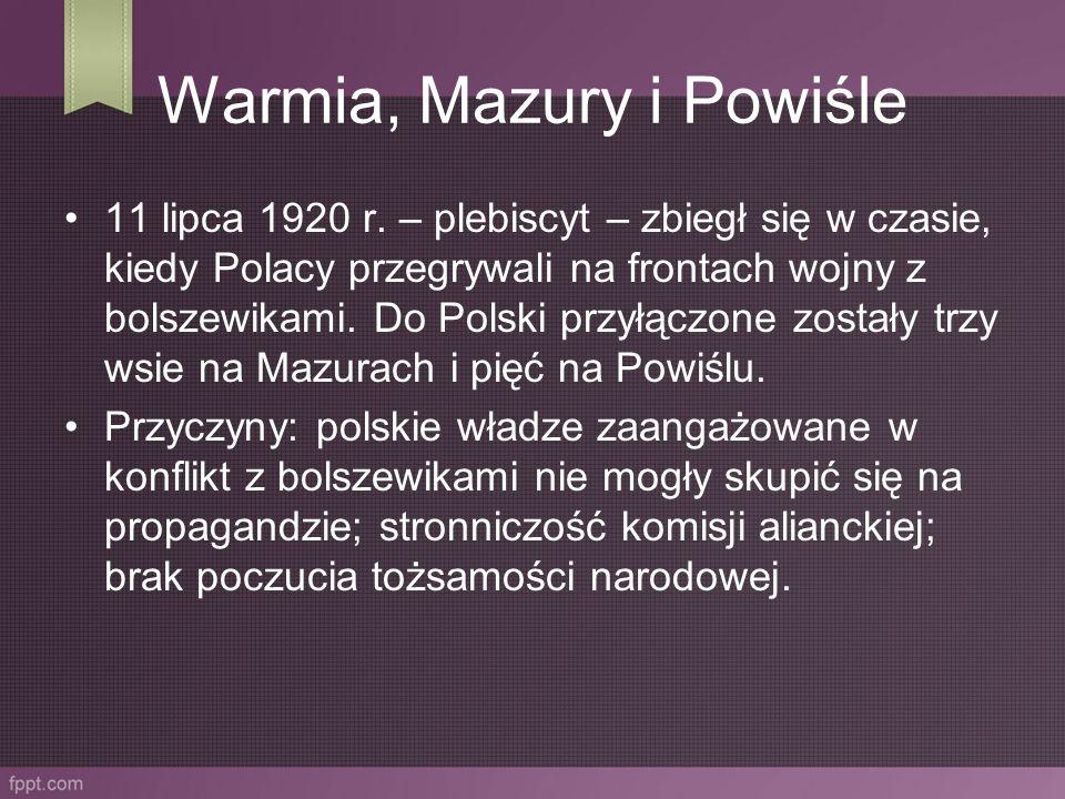 Warmia, Mazury i Powiśle