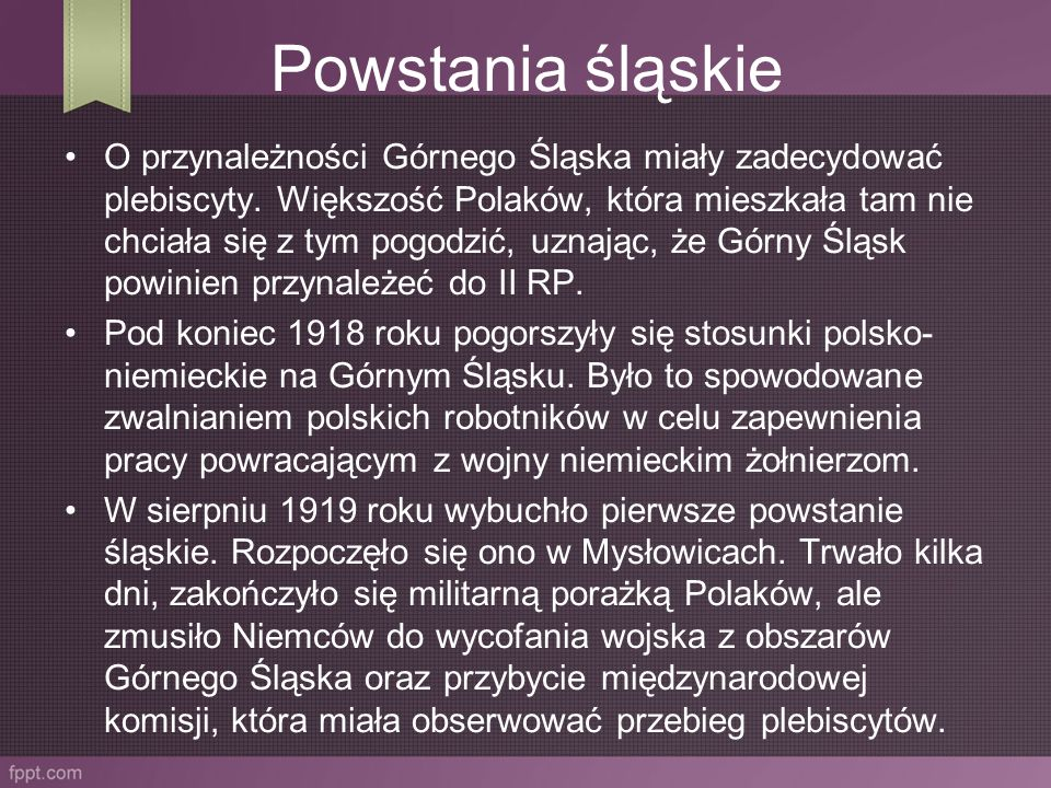 Powstania śląskie