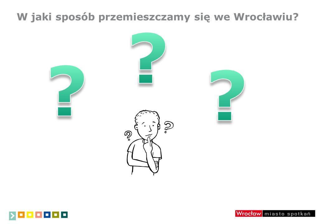 W jaki sposób przemieszczamy się we Wrocławiu