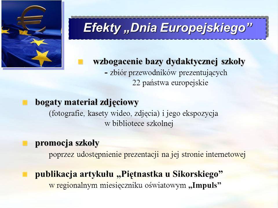 """Efekty """"Dnia Europejskiego"""