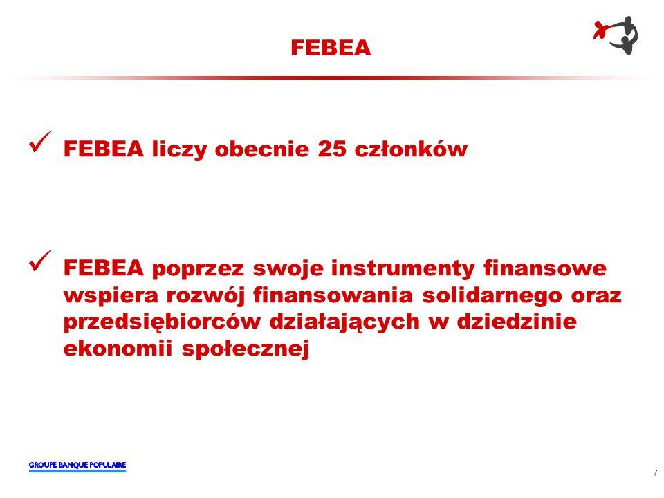 FEBEA FEBEA liczy obecnie 25 członków.