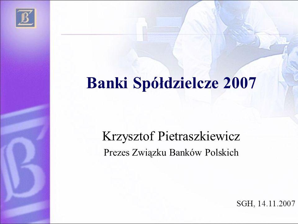 Krzysztof Pietraszkiewicz Prezes Związku Banków Polskich