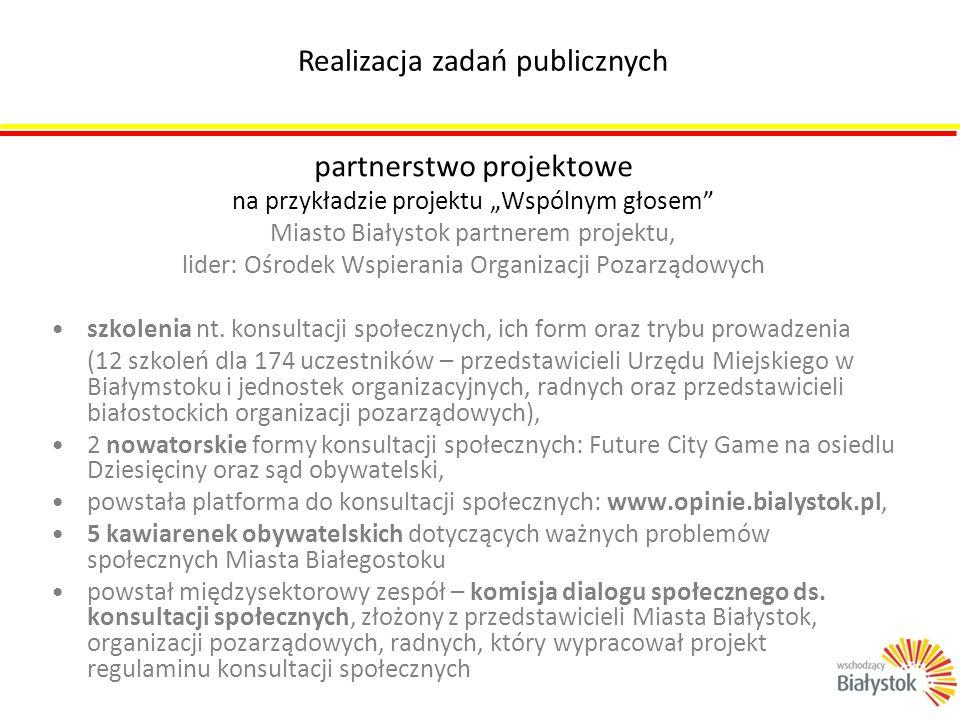Realizacja zadań publicznych