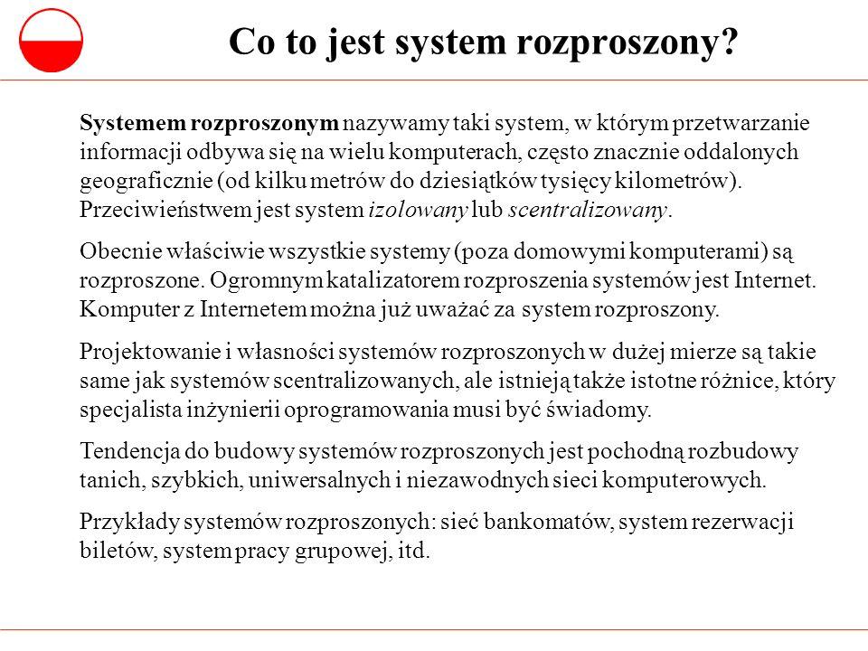 Co to jest system rozproszony