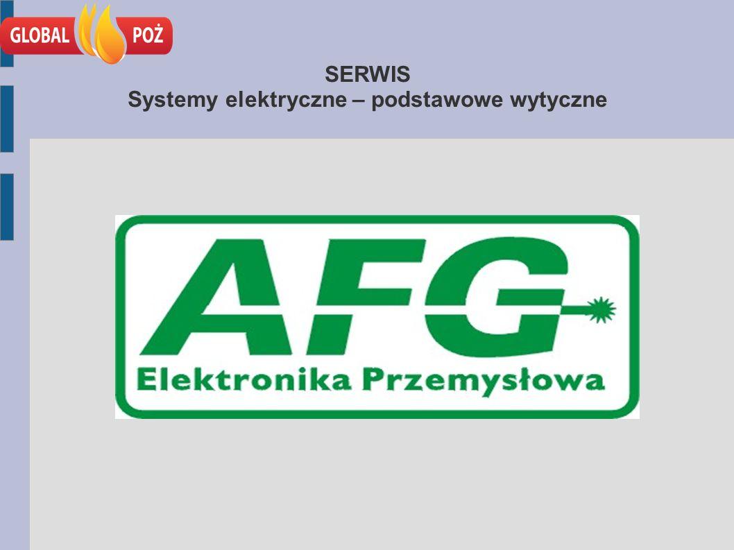 SERWIS Systemy elektryczne – podstawowe wytyczne