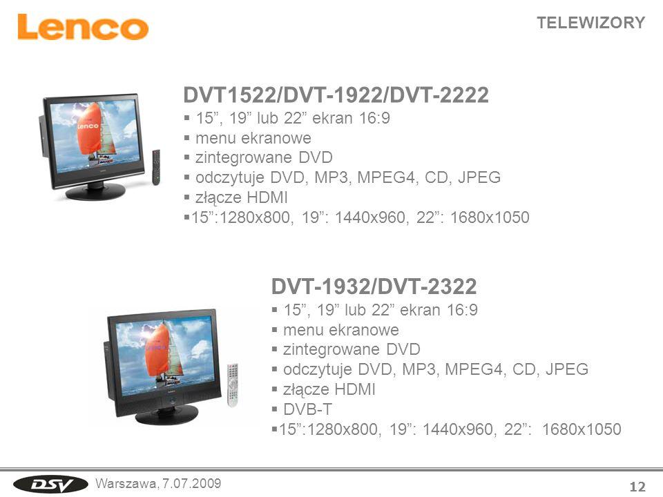 DVT1522/DVT-1922/DVT-2222 DVT-1932/DVT-2322 TELEWIZORY