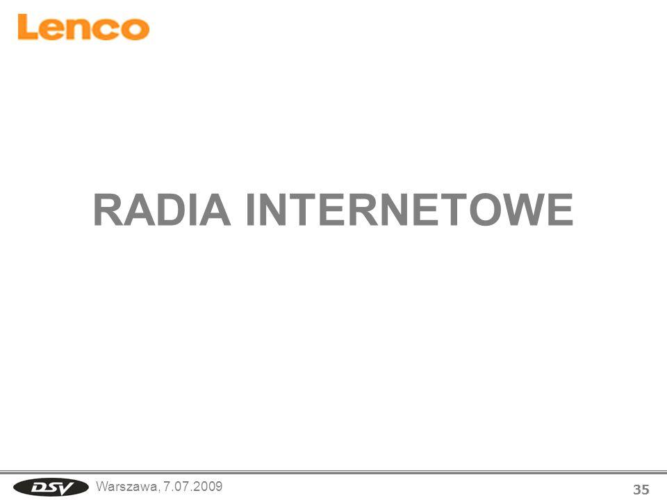 RADIA INTERNETOWE