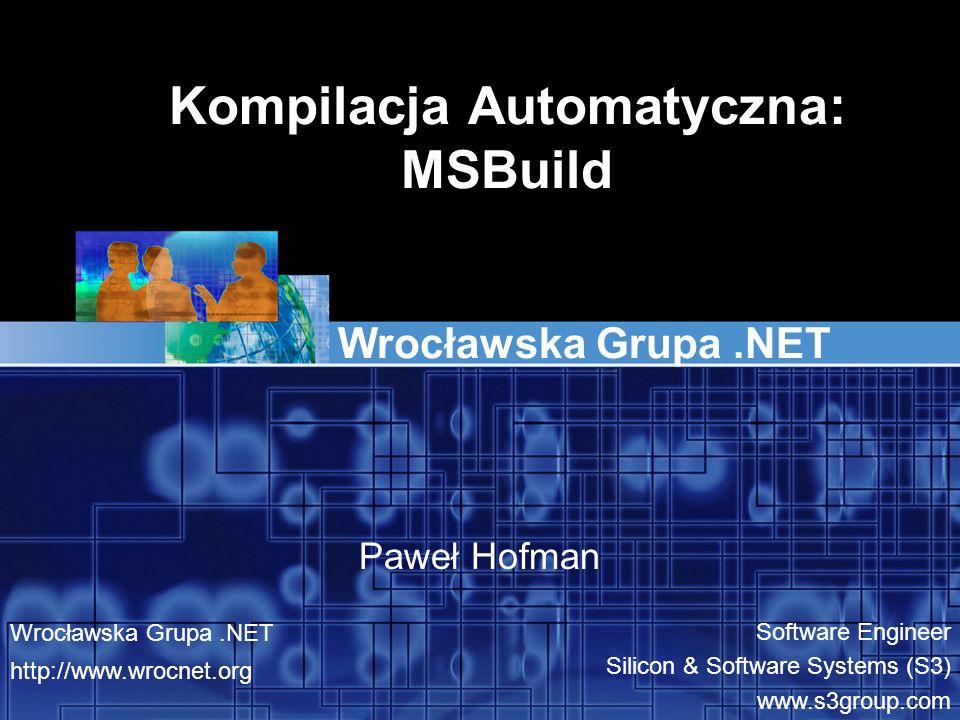 Kompilacja Automatyczna: MSBuild