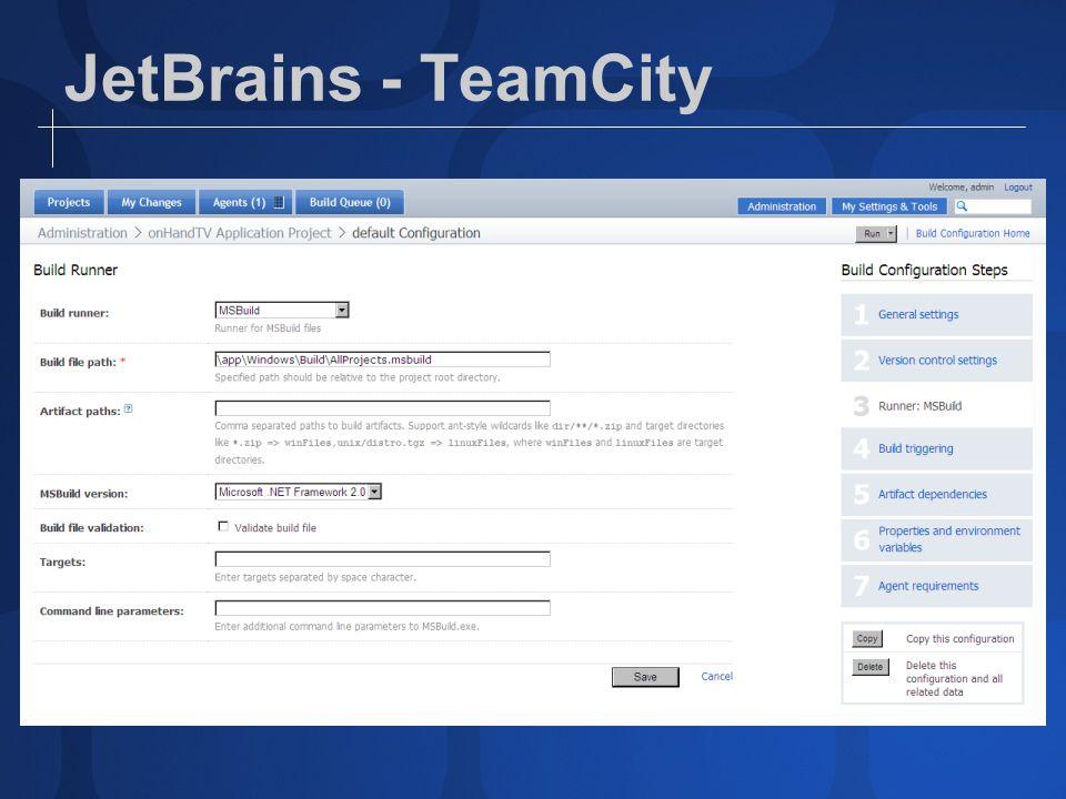 JetBrains - TeamCity