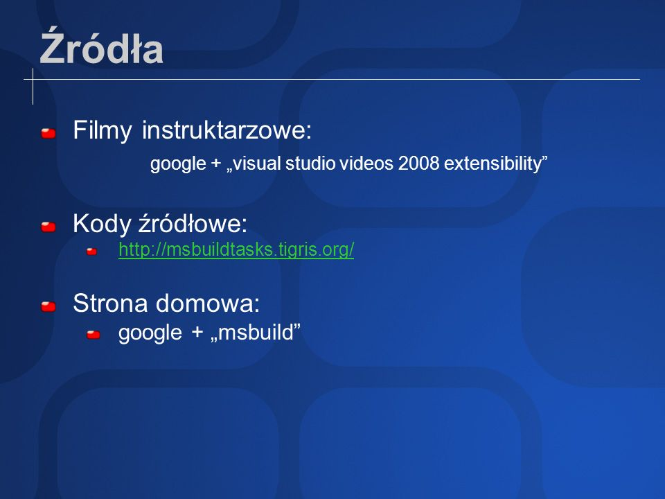 "google + ""visual studio videos 2008 extensibility"