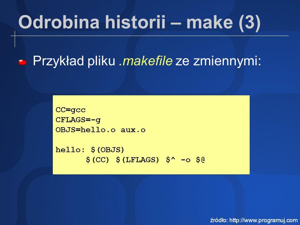 Odrobina historii – make (3)