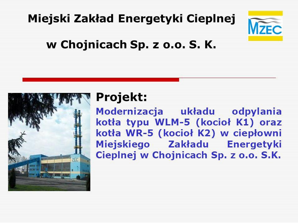 Miejski Zakład Energetyki Cieplnej w Chojnicach Sp. z o.o. S. K.