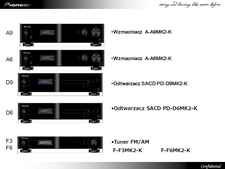 A9 A6 D9 D6 F3 F6 Wzmacniacz A-A9MK2-K Wzmacniacz A-A6MK2-K