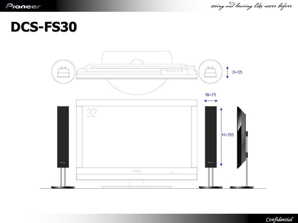 DCS-FS30 W=75 D=55 H=395