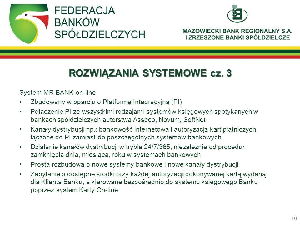 ROZWIĄZANIA SYSTEMOWE cz. 3