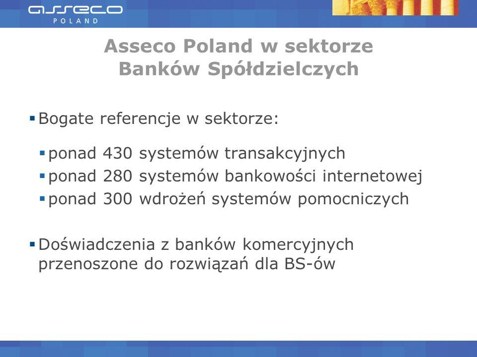 Asseco Poland w sektorze Banków Spółdzielczych