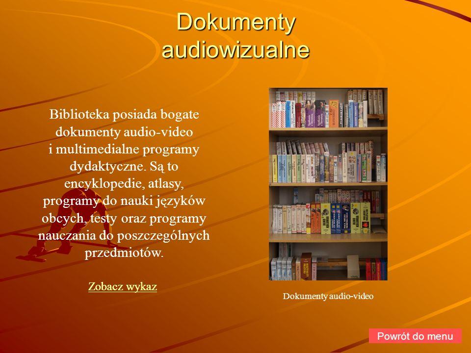 Dokumenty audiowizualne