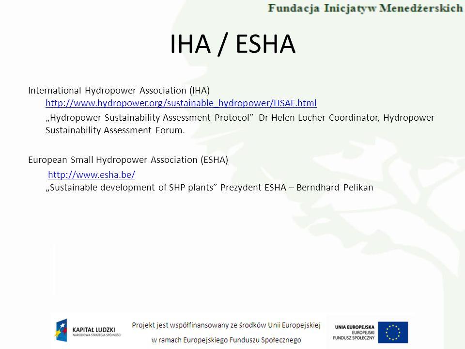 IHA / ESHA