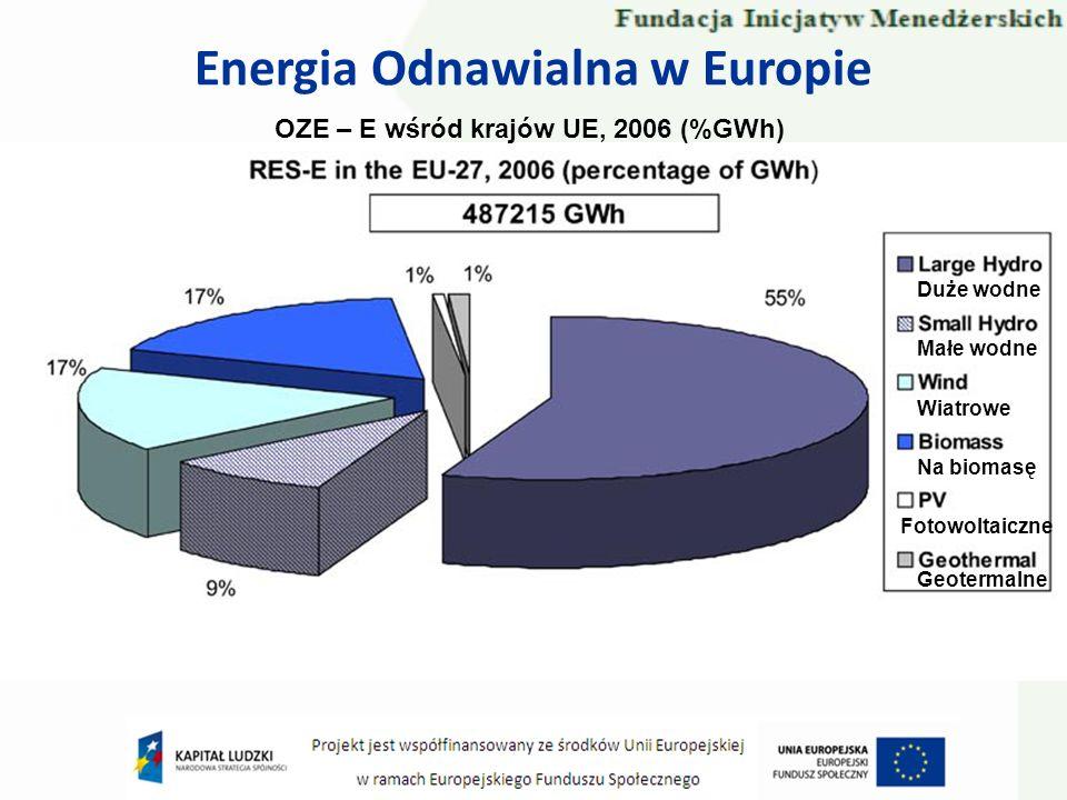 Energia Odnawialna w Europie