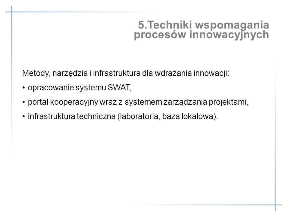 5.Techniki wspomagania procesów innowacyjnych