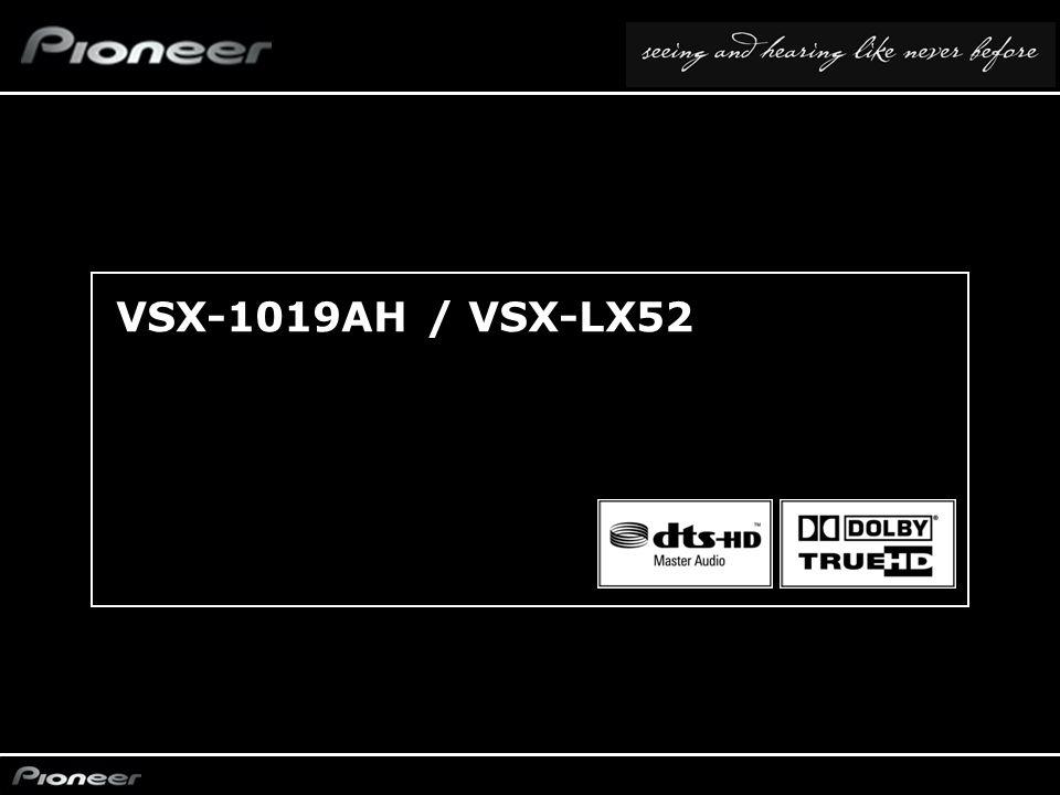 VSX-1019AH / VSX-LX52