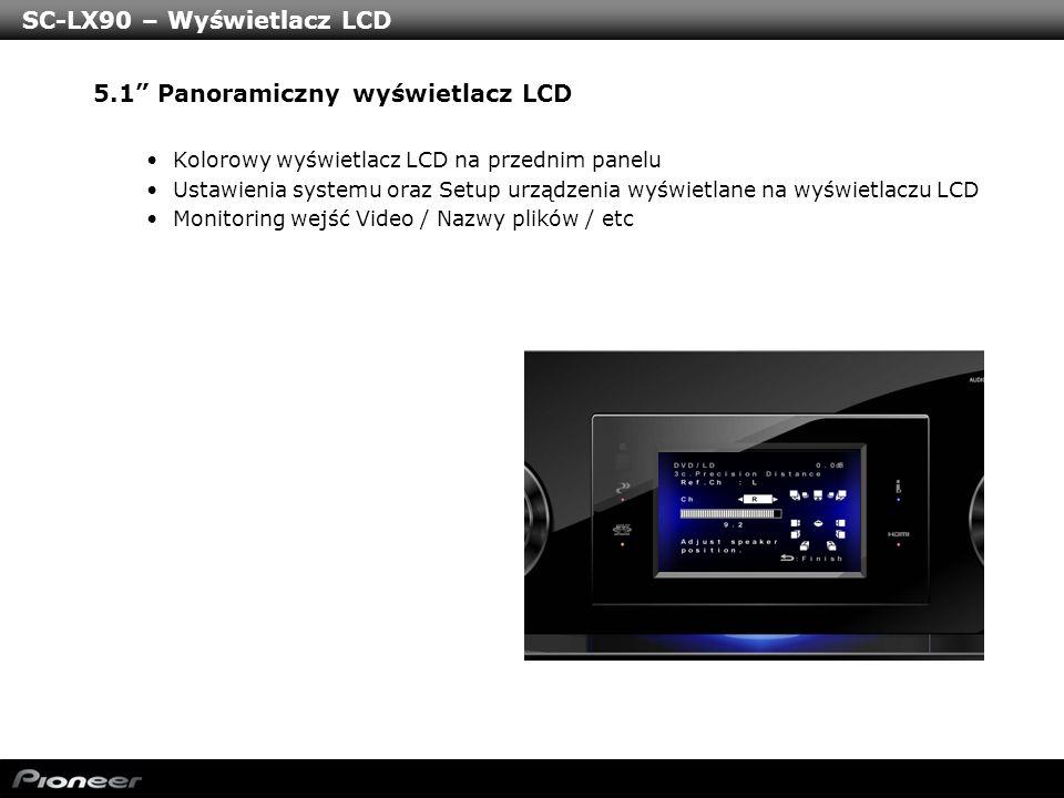 SC-LX90 – Wyświetlacz LCD