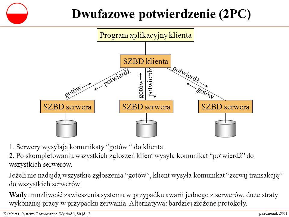Dwufazowe potwierdzenie (2PC)