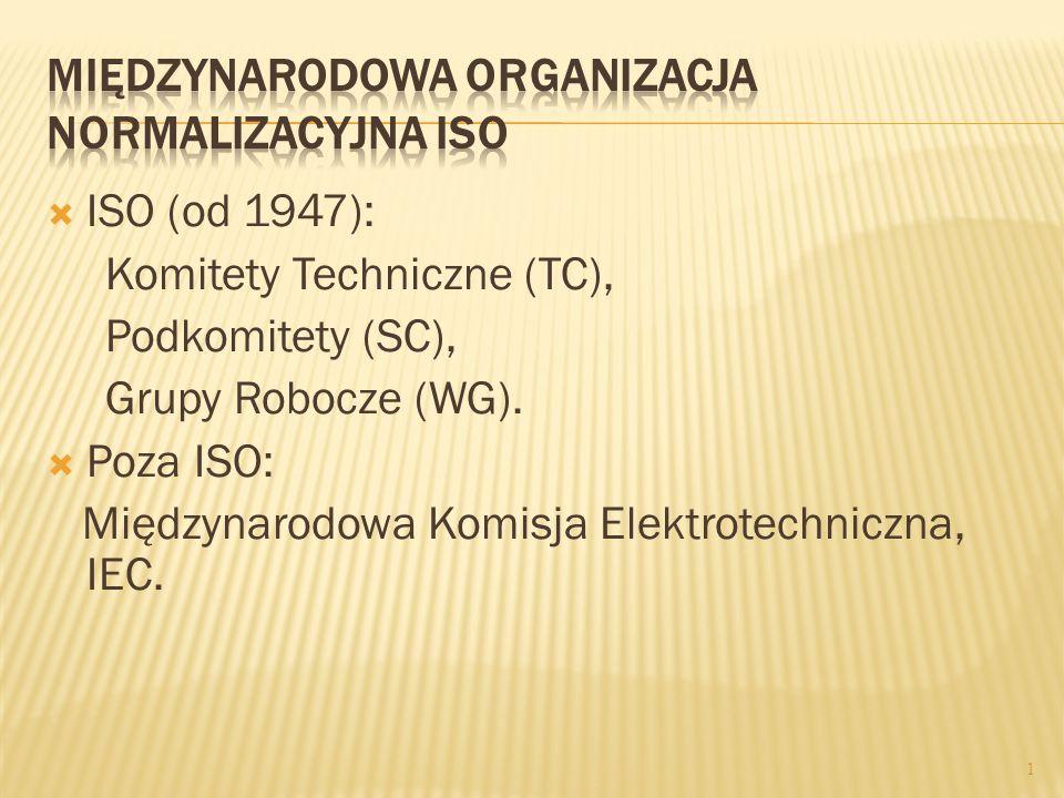 Międzynarodowa Organizacja Normalizacyjna ISO