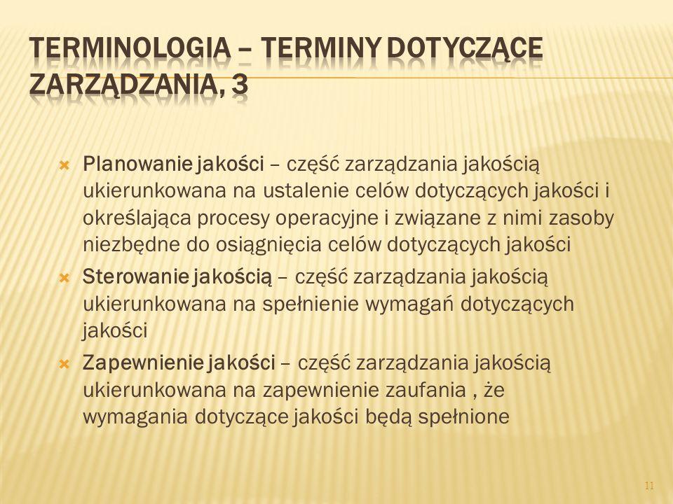 Terminologia – terminy dotyczące zarządzania, 3