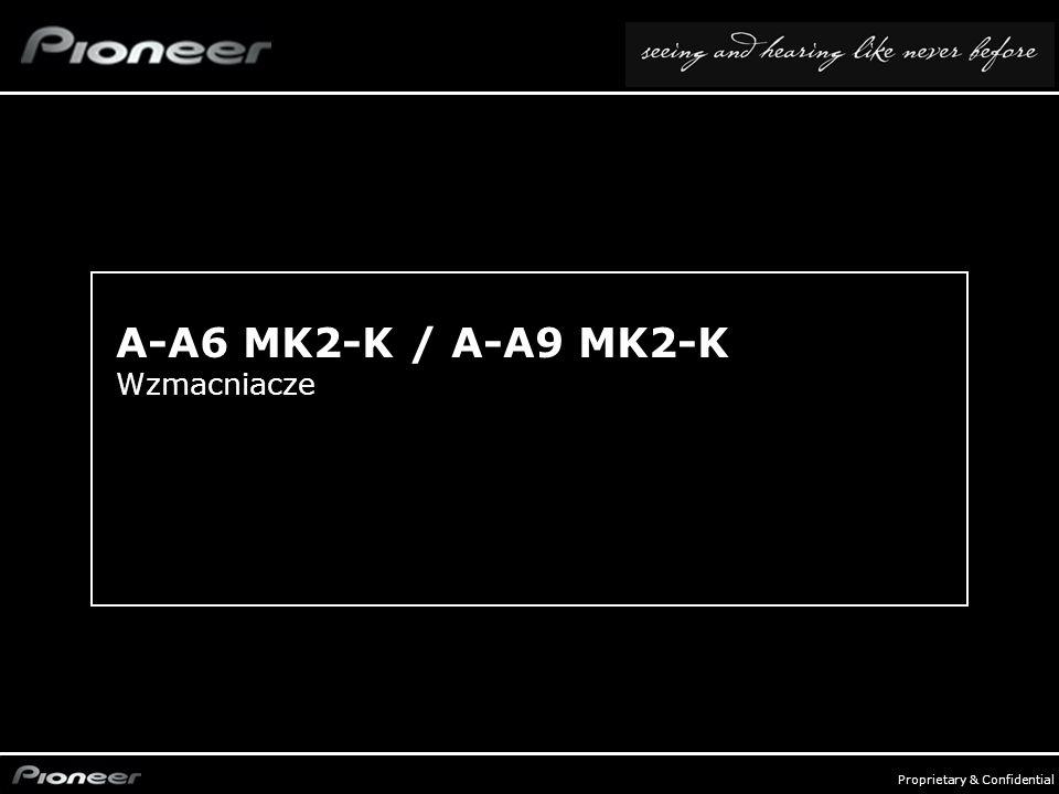 A-A6 MK2-K / A-A9 MK2-K Wzmacniacze