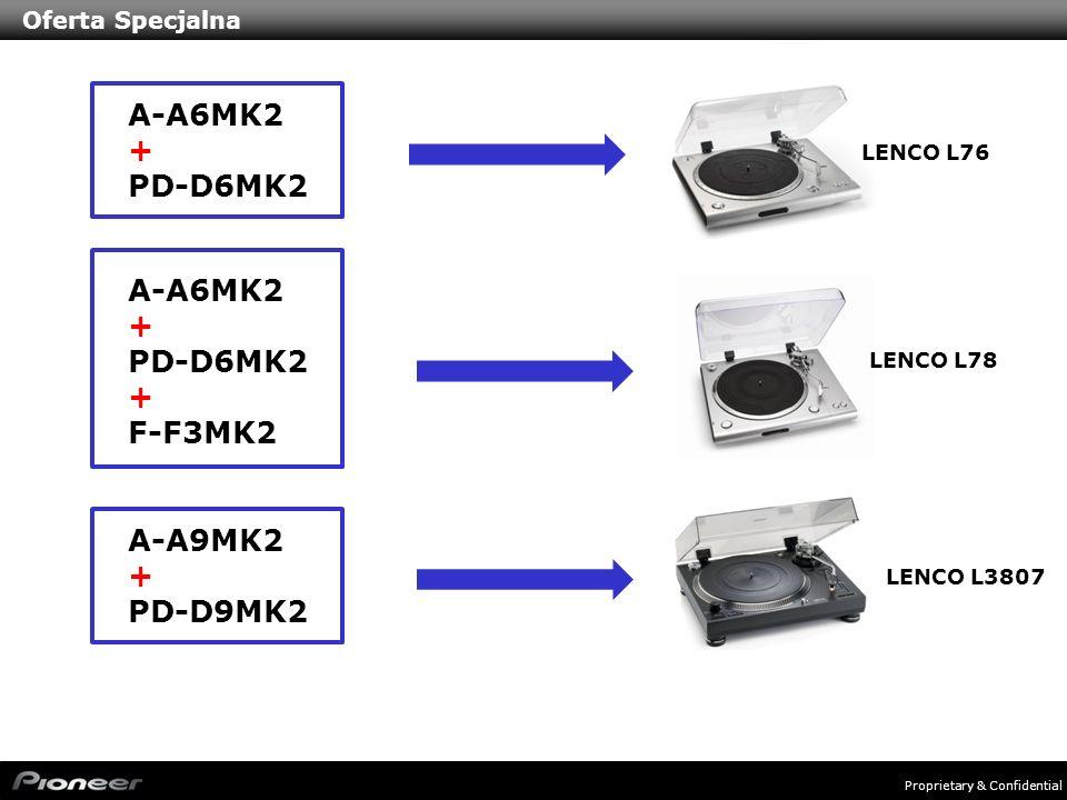 A-A6MK2 + PD-D6MK2 A-A6MK2 + PD-D6MK2 F-F3MK2 A-A9MK2 + PD-D9MK2