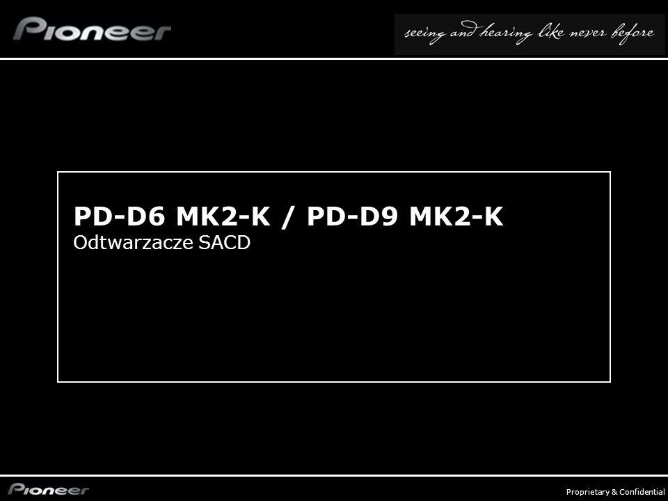 PD-D6 MK2-K / PD-D9 MK2-K Odtwarzacze SACD