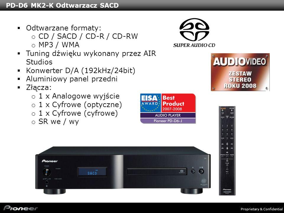 PD-D6 MK2-K Odtwarzacz SACD