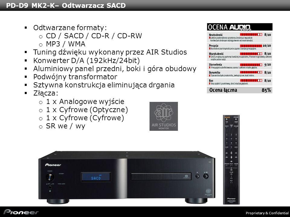 PD-D9 MK2-K– Odtwarzacz SACD