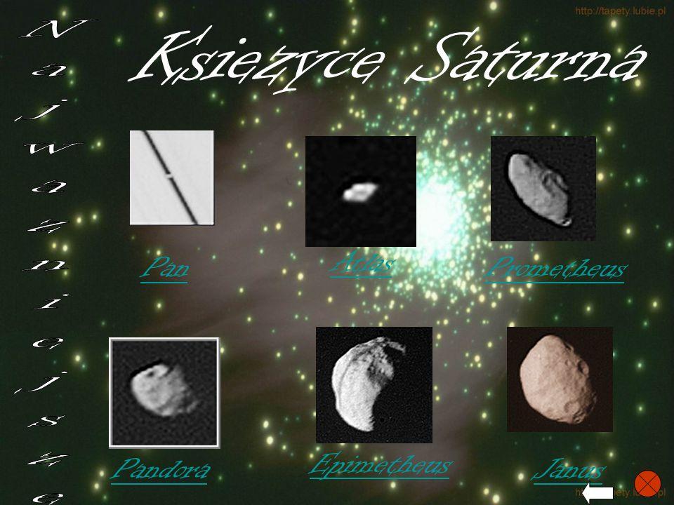 Ksiezyce Saturna Najwazniejsze Atlas Pan Prometheus Epimetheus Pandora