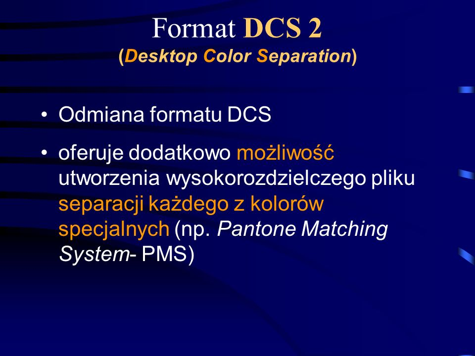 Format DCS 2 (Desktop Color Separation)