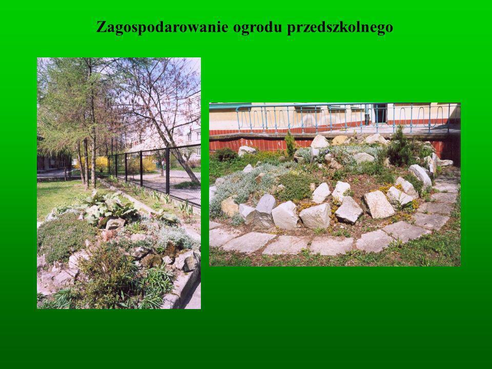 Zagospodarowanie ogrodu przedszkolnego