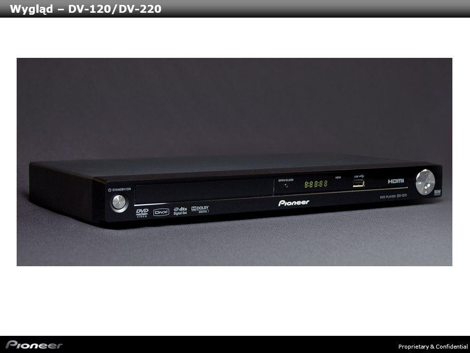 Wygląd – DV-120/DV-220
