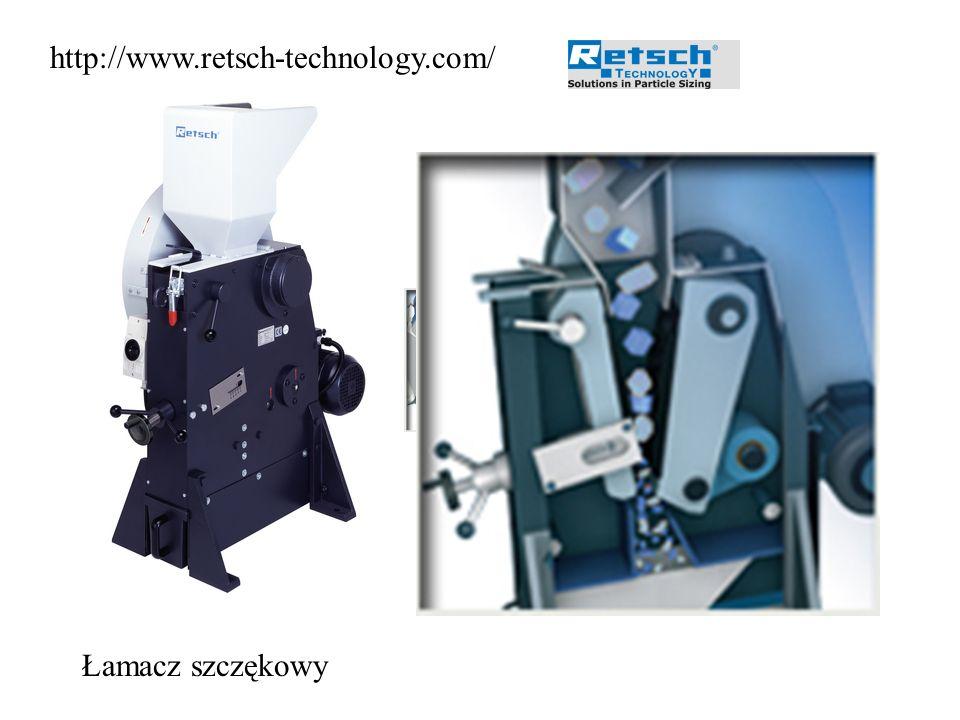 http://www.retsch-technology.com/ Łamacz szczękowy