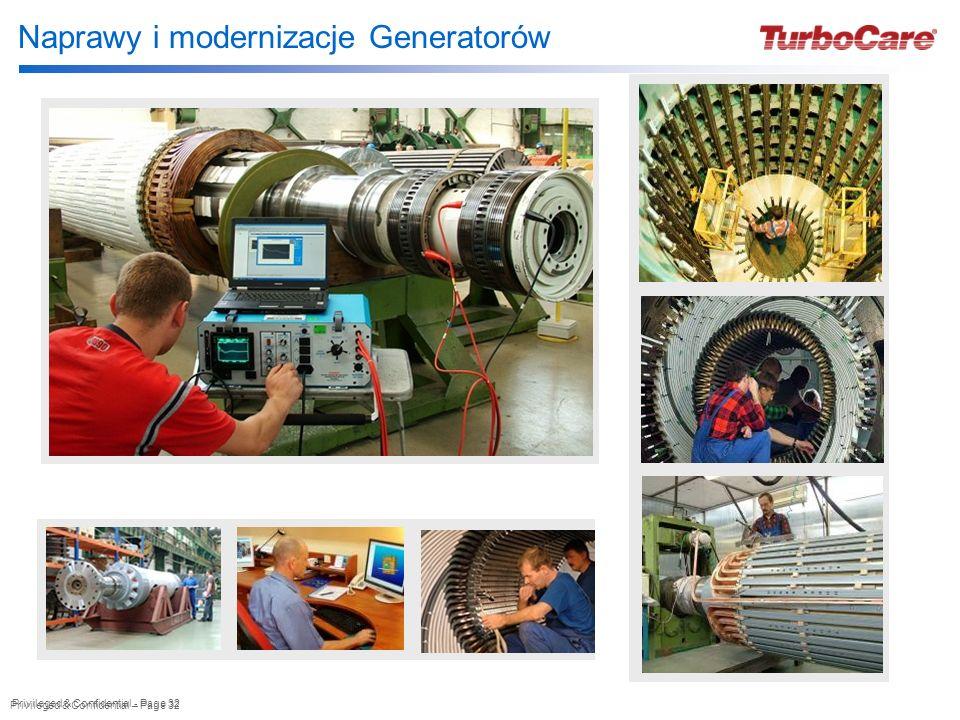 Naprawy i modernizacje Generatorów