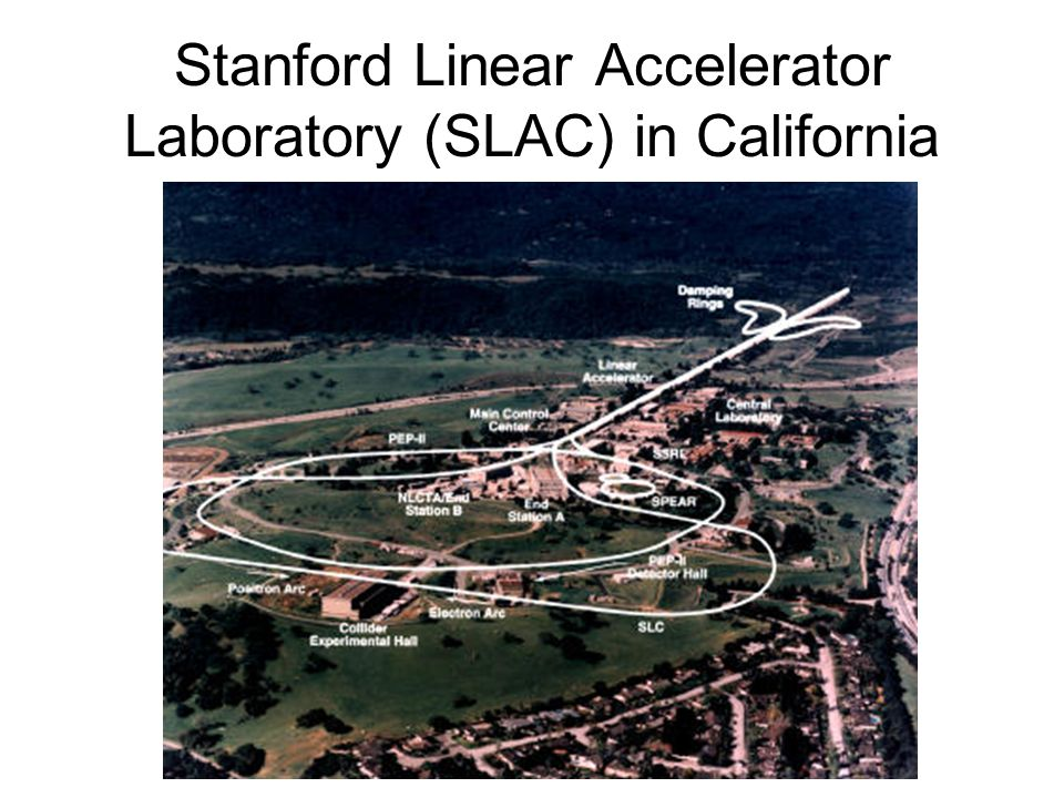 Stanford Linear Accelerator Laboratory (SLAC) in California