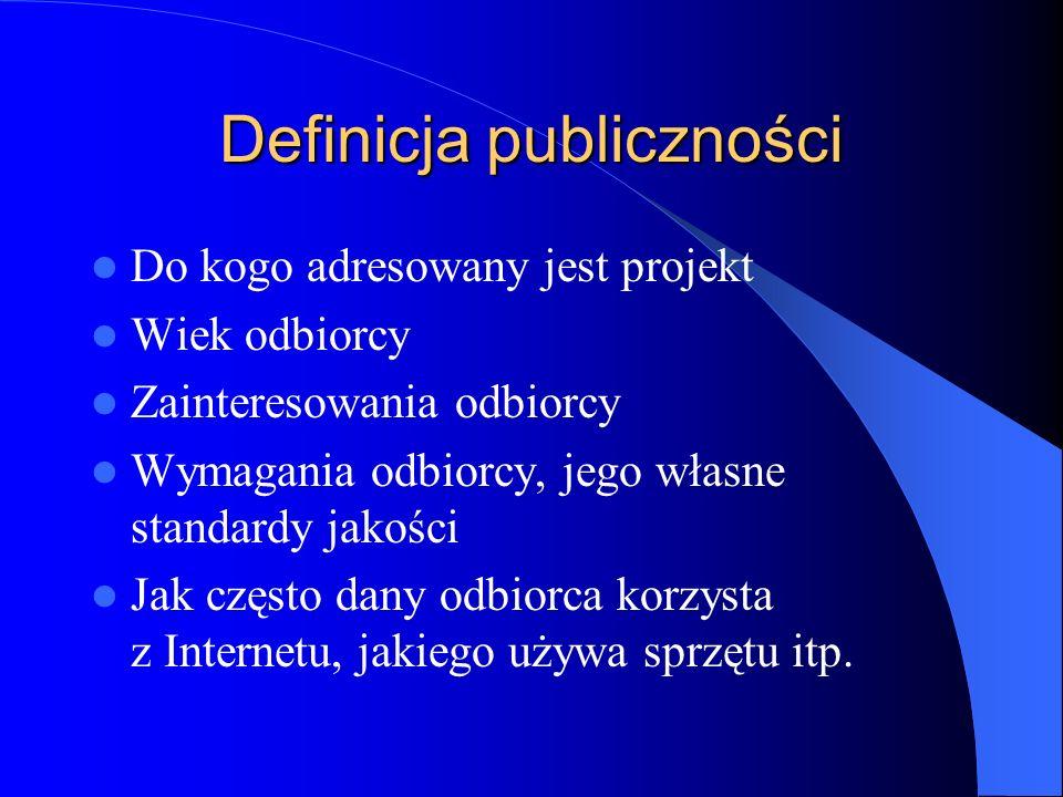 Definicja publiczności