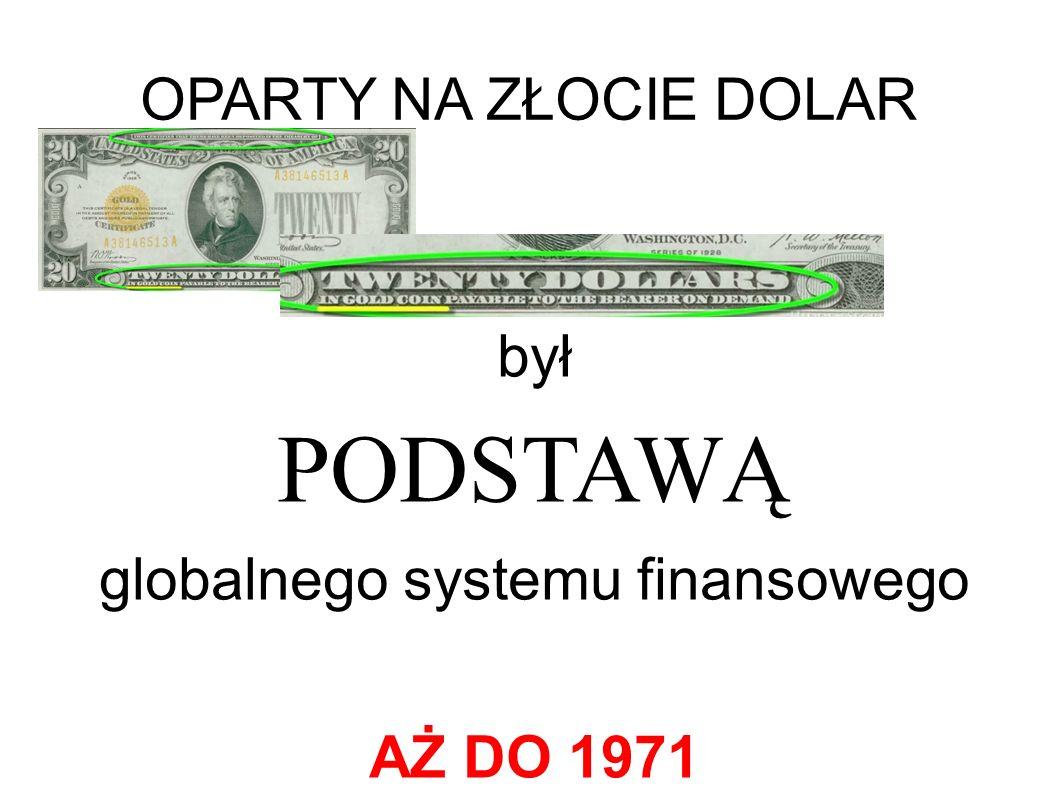 globalnego systemu finansowego