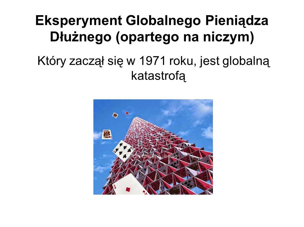 Eksperyment Globalnego Pieniądza Dłużnego (opartego na niczym)