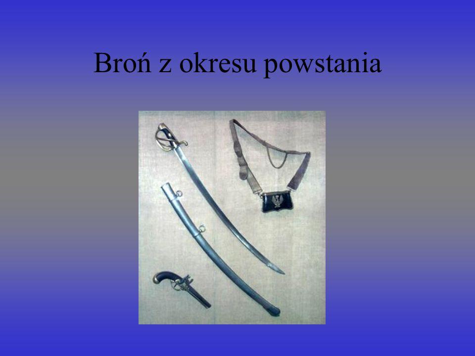 Broń z okresu powstania