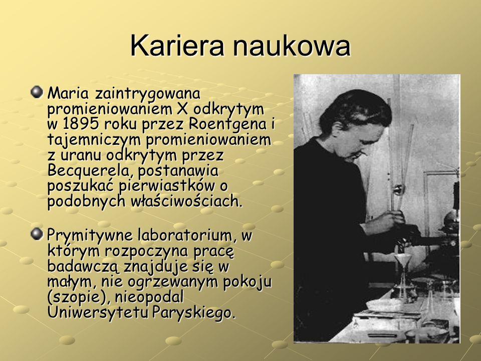 Kariera naukowa