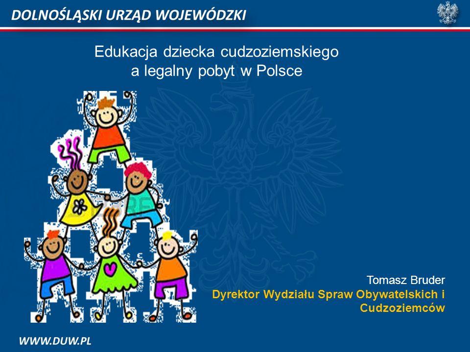 Edukacja dziecka cudzoziemskiego a legalny pobyt w Polsce