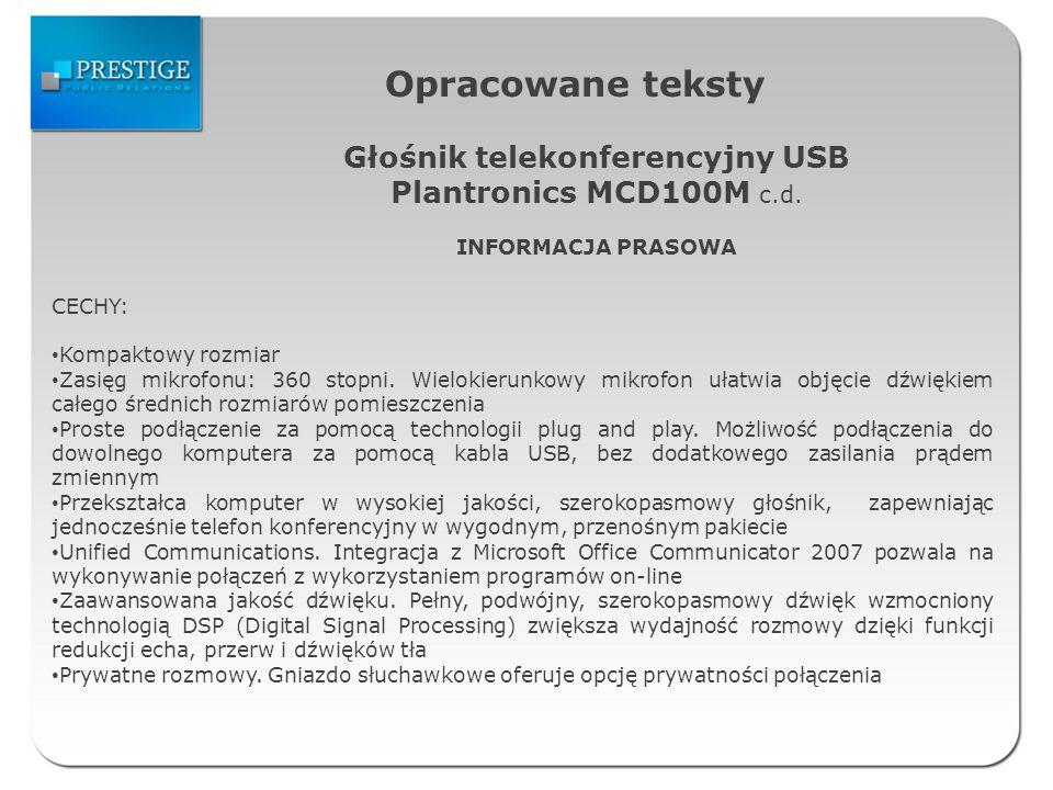 Głośnik telekonferencyjny USB