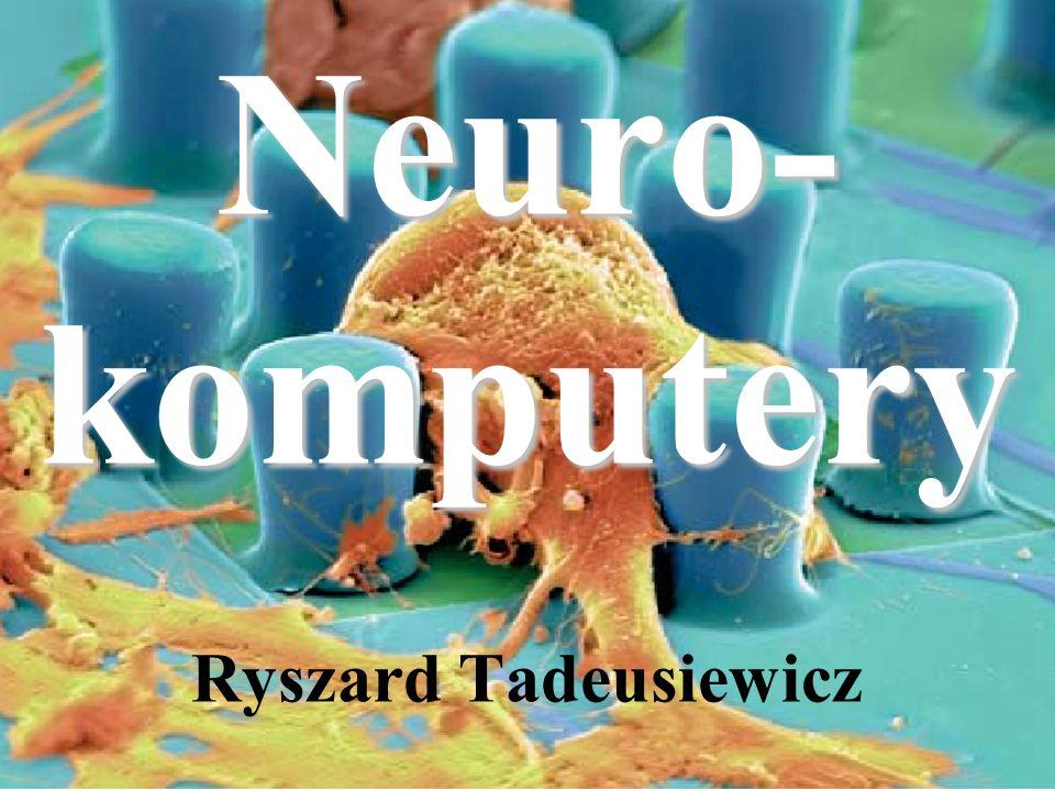 Neuro-komputery Ryszard Tadeusiewicz